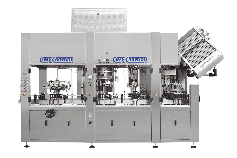 Cime Careddu Gold Bottle Filler   SMB Machinery